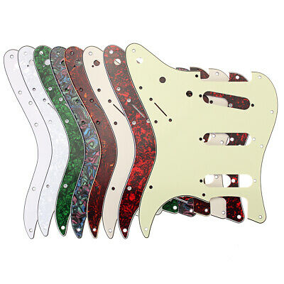 3ply 11-Hole Scratchplate Pickguard SSS For USA, MEX Fender Strat Stratocaster