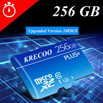 Ultra 256GB Micro SD Memory Card Class 10 SDXC 95MB/S No Adapter UHS-I