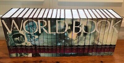 World Book 22 Volume Encyclopedia Complete Set 2005 Edition Hardcover Imm