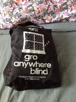 Gro Company Gro Anywhere Portable Blackout Blind - Stars and Moons