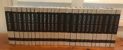 World Book Encyclopaedia Complete Set 1976 Like New 24 Volumes Hardcover