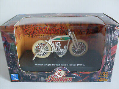 New Ray 1//32 1914 Indian Single Board Track Racer Motorcycle 06067 D