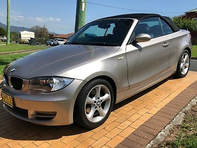 BMW 120i 2008 CONVERTIBLE 077,785 LOW KLMS