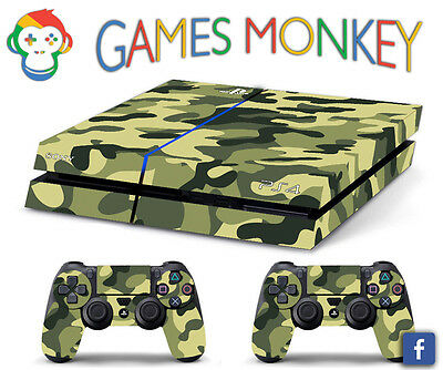 Video Game Accessories Faceplates, Decals & Stickers Skin Ps4 Slim Camouflage Snow Limited Edition Decal Cover Playstation 4