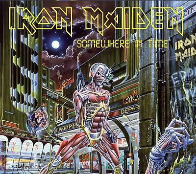 IRON MAIDEN 'SOMEWHERE IN TIME' (Remastered) CD (22nd March 2019)
