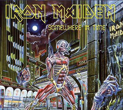 IRON MAIDEN 'SOMEWHERE IN TIME' (Remastered) CD (29th March 2019)
