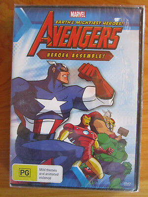 Dvd Brand New Sealed Marvel The Avengers Heroes Assemble  ** Must See **