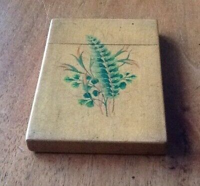 Antique Mauchline Ware Card Case