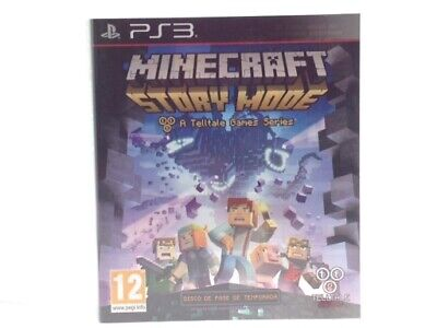 Juego Ps3 Minecraft Story Mode Ps3 4443437