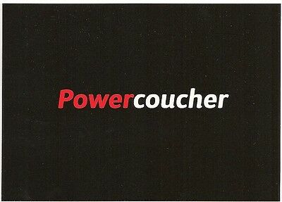"""Powercoucher"" Boomerang Media Card by TVMedia"