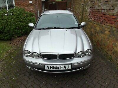 Jaguar X-Type Sport D 2.0 Estate Diesel, 131032 miles.