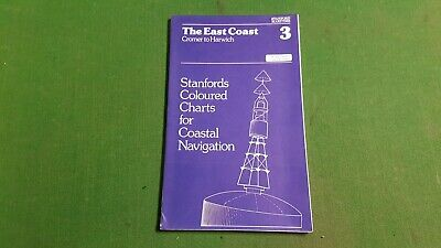 No.3 The East Coast Cromer to Harwich Stanfords Coloured Charts