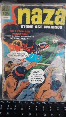 Naza Stone Age Warrior #9 Vg+ (4.5) Dell Comics March 1966