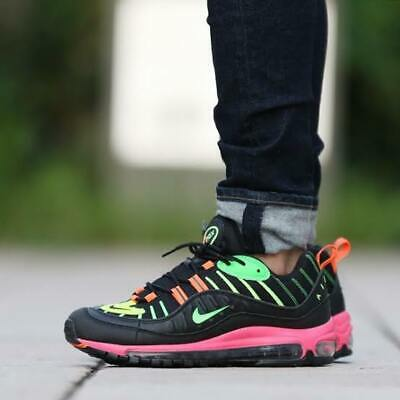 info for 39059 5dbda NIKE AIR MAX 98 NEON BLACK BOLT CI2291-083 Japan limited TOKYO NEON  COLLECTION