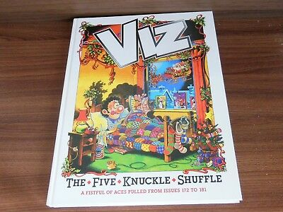 Viz The Five Knucle Shuffle Hardback Book Annual Owned from New