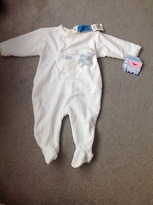 Sucre D'orge French Designer Baby Boy Babaygrow Age 6 Months Bnwt