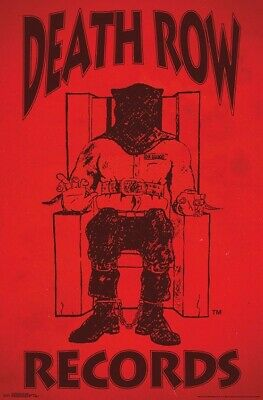 DEATH ROW RECORDS - LOGO POSTER - 22x34 - MUSIC 17504