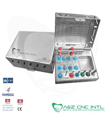 Dental Implant  Surgical Drills Kit / 7 Drills / Drivers / Ratchet and Tools