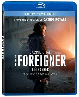 The Foreigner [Bluray + DVD] [Blu-ray] (Bilingual)  *NEW**
