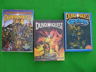 Games Workshop, Dungeonquest, Catacombs & Heroes Multi-Listing