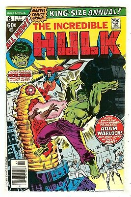 Incredible Hulk Annual 6   1st Paragon
