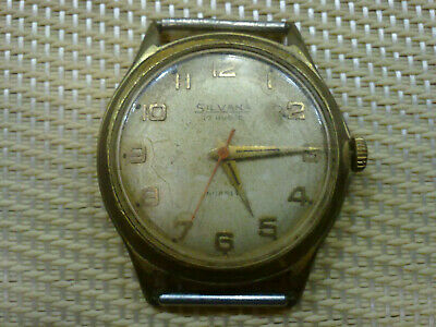 Vintage Old Swiss made women Wrist Watch SILVANA