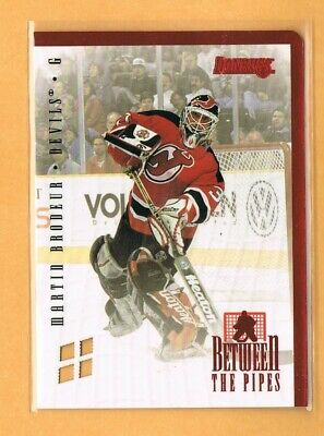 1996-97 Donruss Martin Brodeur Between the Pipes /4000 New Jersey Devils #2