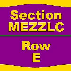 2 TICKETS 3/3/19 Cats Pantages Theatre - CA