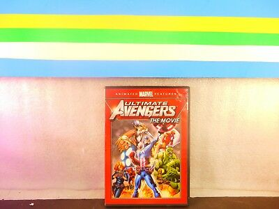 Ultimate Avengers: The Movie on DVD