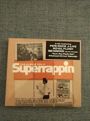 Superrappin -- The Album Vol.II ---- 2 CD --- NEU OVP