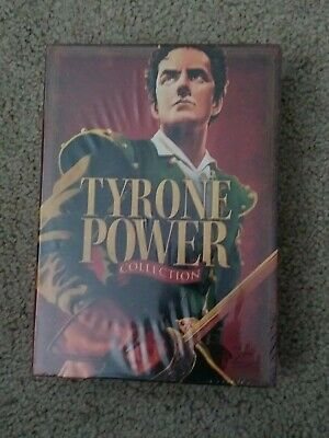 TYRONE POWER COLLECTION /5-DVD Set/Blood and Sand /Black Rose+ more BRAND NEW