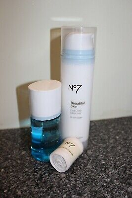 Boots No7 Hot Cloth Cleanser, Eye Makeup Remover, Cloth New
