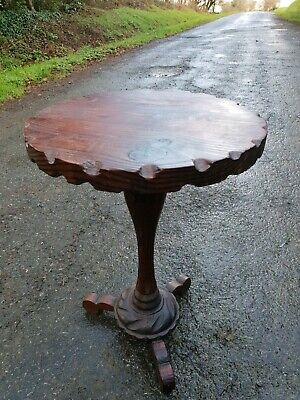 Small antique French side table/stand