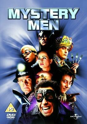 Mystery Men Dvd Brand New & Factory Sealed Uk Pal Reg 2 Ben Stiller Comedy.