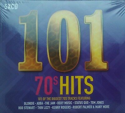 101 70's / Seventies Hits - 5 cd set - NEW. SEALED