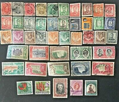British Africa, Rhodesia Collection Of Old Stamps