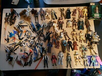 Star Wars-  Mixed Lot   Modern Era   Nice Condition   Some Accessories Included