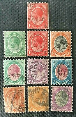 British Africa, South Africa Collection Of Old Stamps