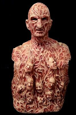 Freddy Inferno Part 4 Silicone Krueger Mask & Chest Of Souls by WFX