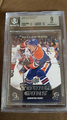 2010-11 ud taylor hall young guns rookie