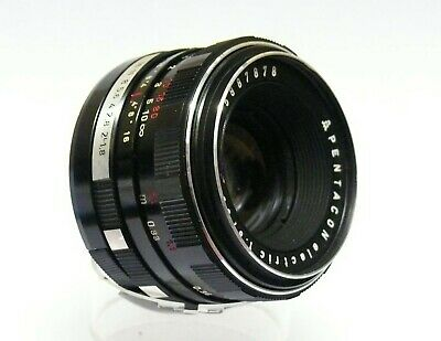 Pentacon 50Mm F1.8 'electric' Fits Pentax M42 Screw Mount Slrs.