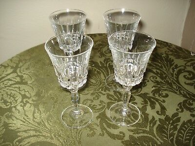 Antique Late  18th Century  Set Of 4 Cordial Glasses