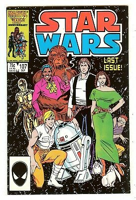 Star Wars 107   Last Issue   Low Distribution