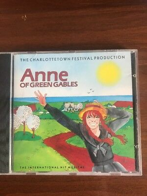 Anne of Green Gables The Charlottetown Festival Production 1984 CD EUC