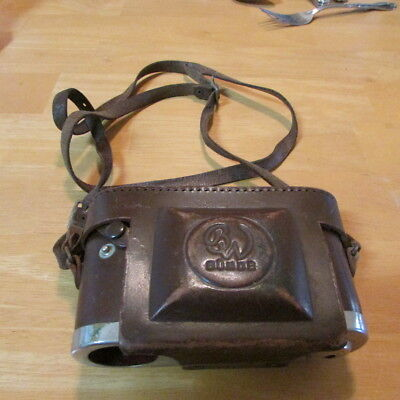 Vintage Bunde Leather Camera case