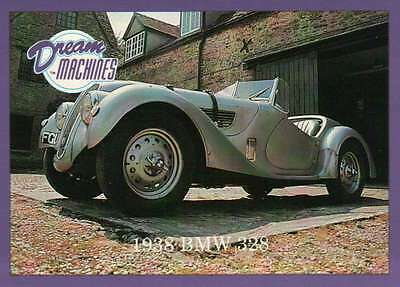 1938 BMW 328, Dream Machines, Cars, Trading Card, Automobile - Not Postcard