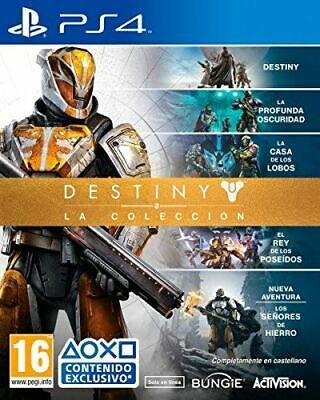 Destiny The Collection Ps4 (Spanish Box - Efigs) Dlc Expired Consider Standard