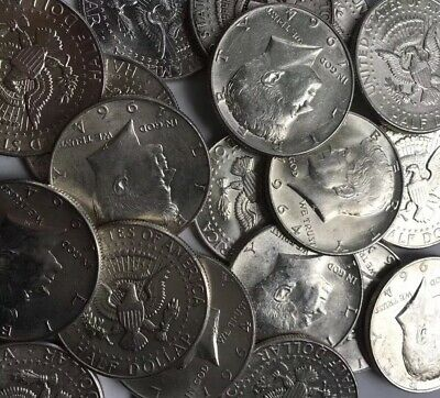 $3 Face Value Kennedy,franklin,liberty Half Dollars 90% Silver  (Lot Of 6 Coins)