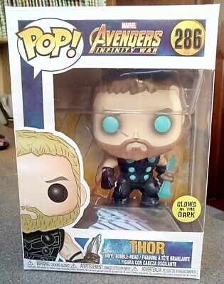 Thor Funko POP! Glows in the Dark Avengers Infinity War Stormbreaker GITD 286