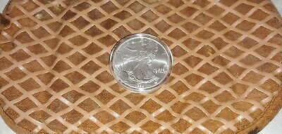 Silver American Eagle  1998 uncir coin Frosted new coin